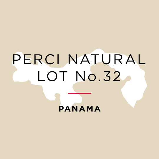 Panama Perci Natural - Lot No.32