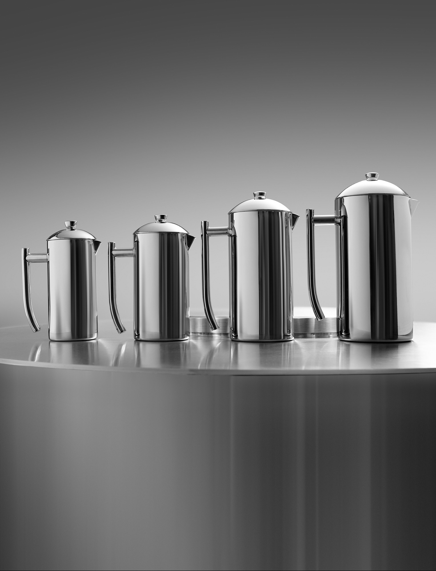 Frieling Stainless Steel French Press Mirrored