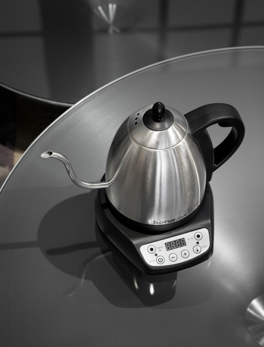 Bonavita 1Liter Gooseneck Variable Temp Electric Kettle