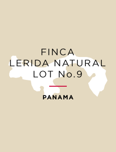 Winner *Best of Panama* Finca Lerida Natural - Auction Lot No.9
